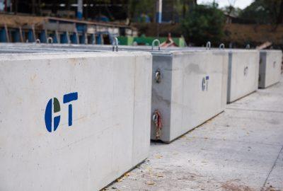 Cajas puente Concretera Total Nicaragua