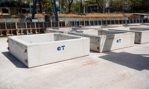 Cajas puente Concretera Total Managua Productos