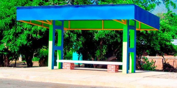 Casetas para bus Concretera T Nicaragua
