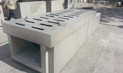 Canaletas pluviales de concreto