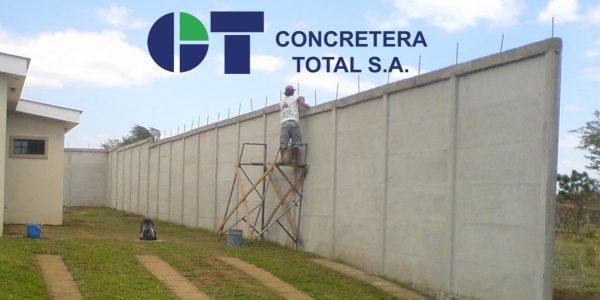 Muro de concreto prefabricado