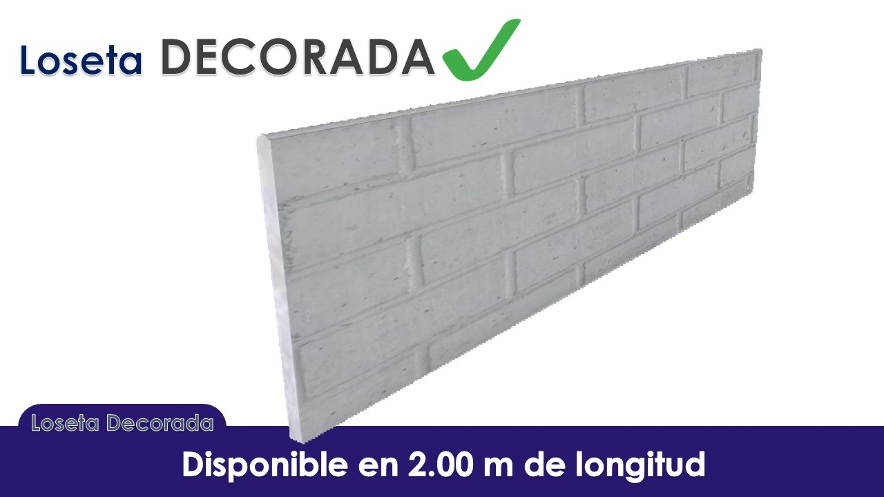 Losetas de Concreto nicaragua